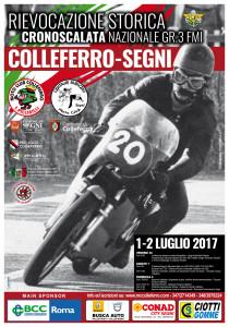 Manifesto Colleferro Segni 2017